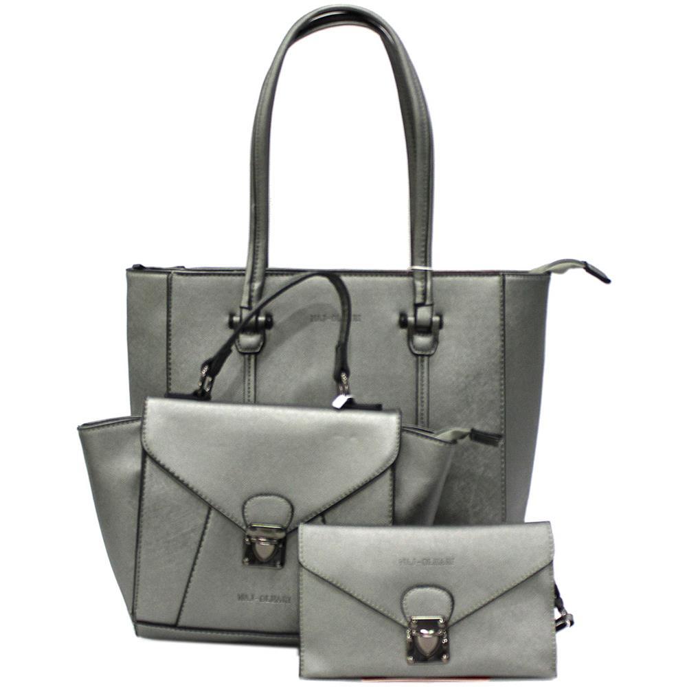 0ace9694cf NAJ OLEARI - Set 2 Borse Shopping A Mano Portafogli Donna In Similpelle  61484 Pelt - ePRICE