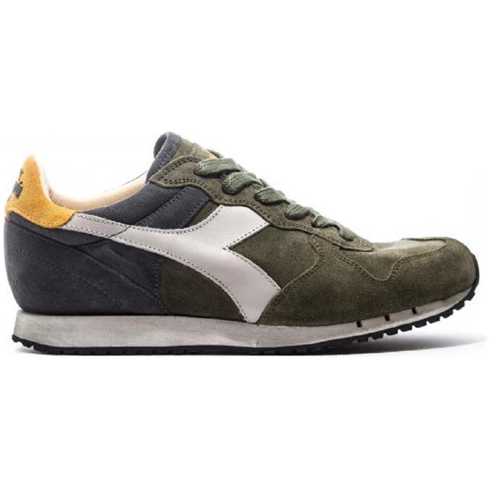Verde Uomo Sneakers Heritage Diadora Sw Trident S RgUOwq
