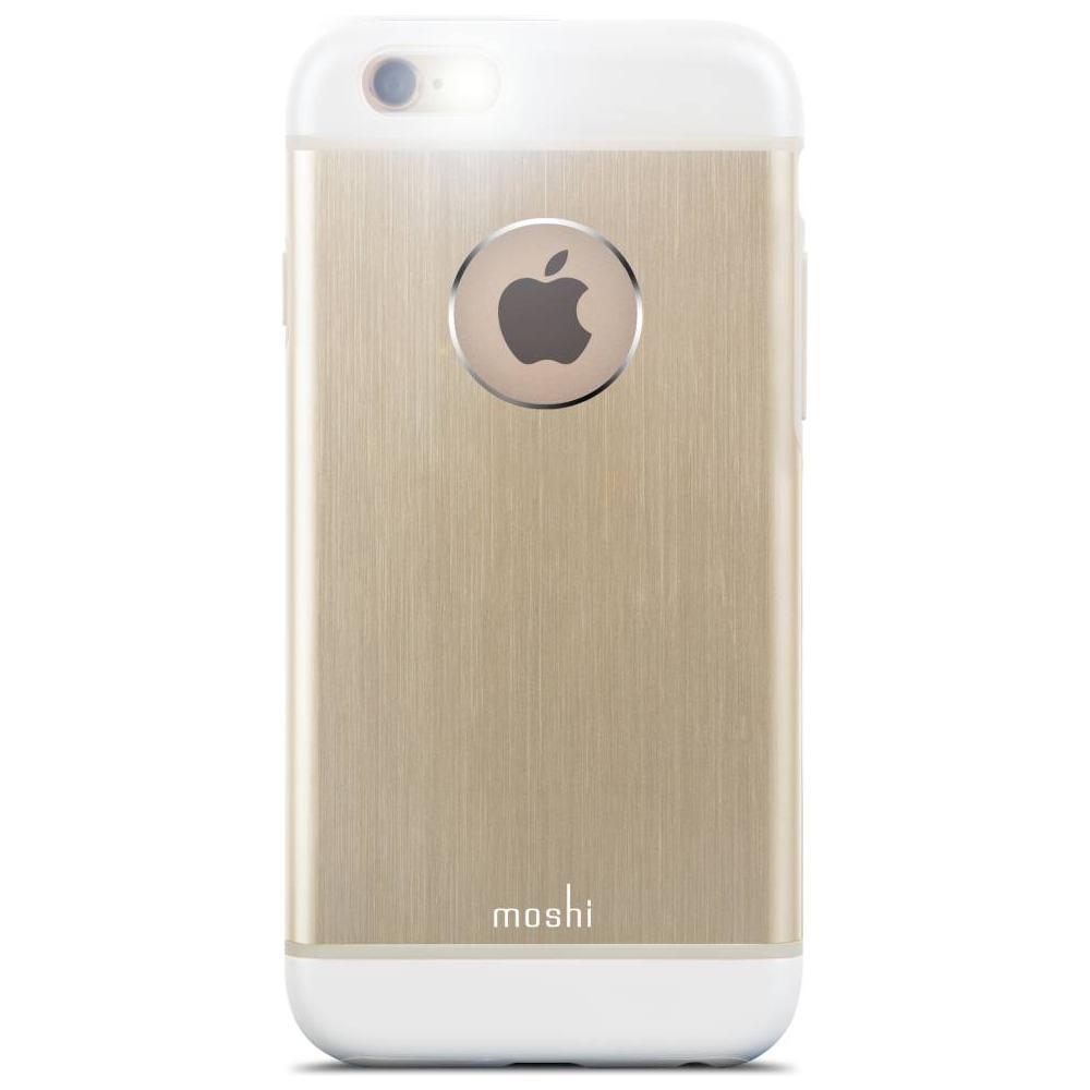 b2c3b564c19 MOSHI - Iglaze Armour Cover Rigida Metallica per iPhone 6/6s - Oro Rosa -  ePRICE
