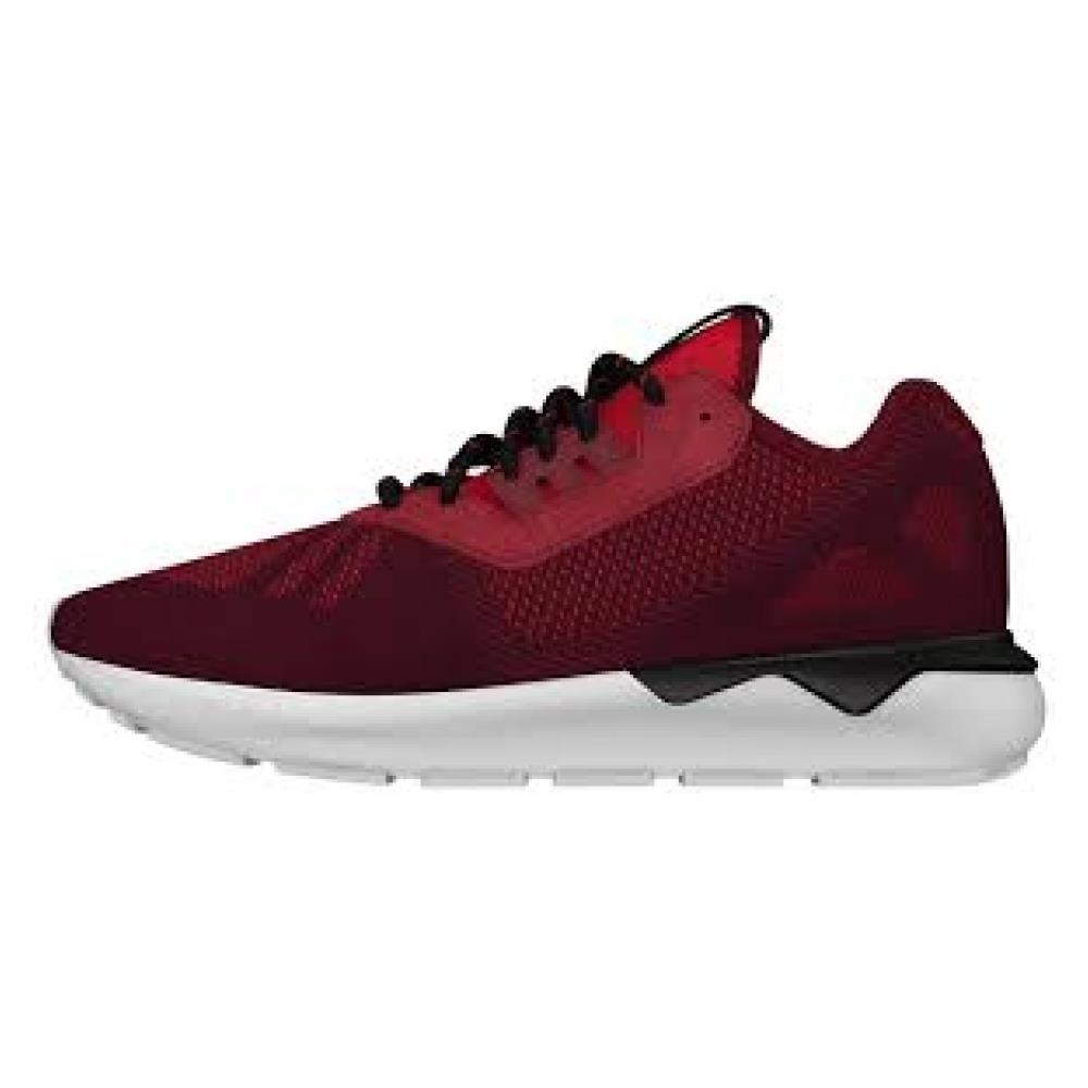 adidas Scarpe Donna Tubular Runner Wave 40,6 Rosso Nero. Zoom