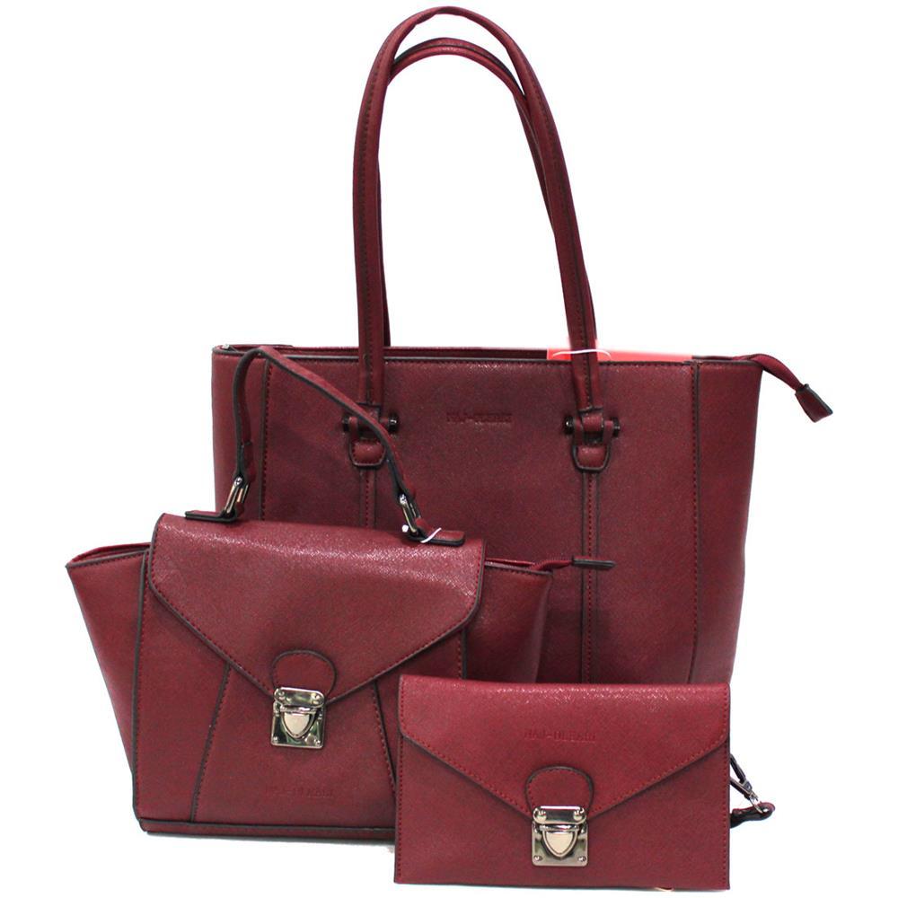 da3266a8ef NAJ OLEARI - Set 2 Borse Shopping A Mano Portafogli Donna In Similpelle  61484 Bord - ePRICE