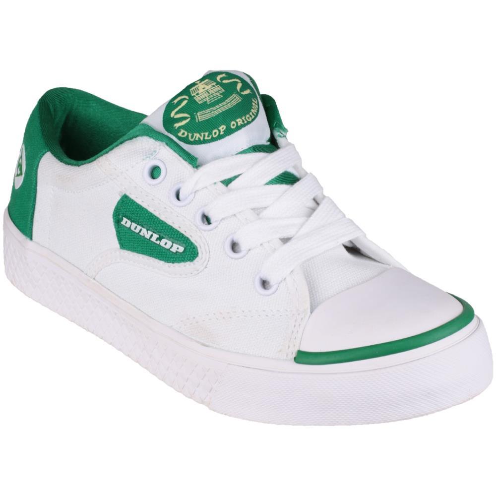 DUNLOP Green Flash Du1555 Scarpe Sneaker Ragazzo (36.5 Eur) (bianco) f1da2b6a61b