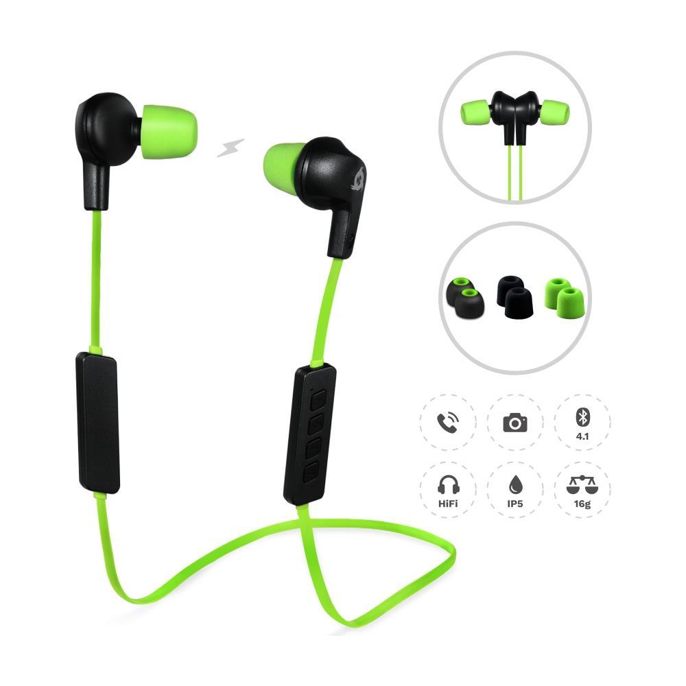 KLIM - Pulse Auricolari Bluetooth 4.1 Cuffie Auricolari Wireless -  Riduzione Rumore - Perfette Per Sport f1e7e82bb46c