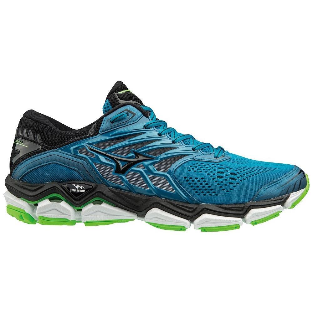 Sconto del 60% 100% autenticato vendita all'ingrosso MIZUNO Scarpe Running Uomo Wave Horizon 2 A4 Stabile Taglia 41 - Colore:  Azzurro / nero