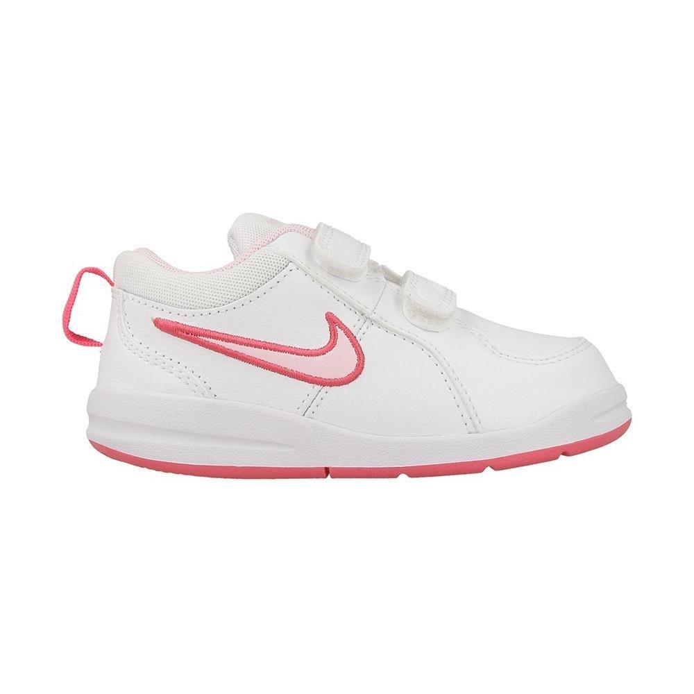 Nike Pico 4 (tdv) Scarpe Bambina Bianche Pelle Strappi 454478 numero 21 1ab7418ed7e86