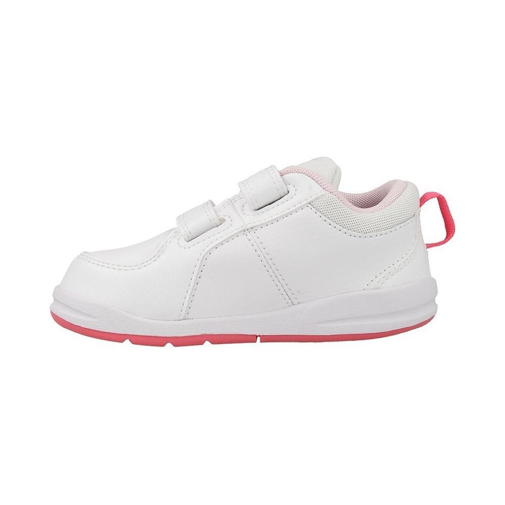 Nike - Pico 4 (tdv) Scarpe Bambina Bianche Pelle Strappi 454478 ... 09b24e89170f5