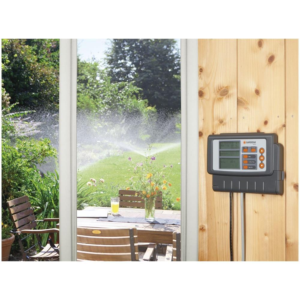 Gardena Centralina Elettronica Per Irrigazione 6 Zone Con Timer Digitale