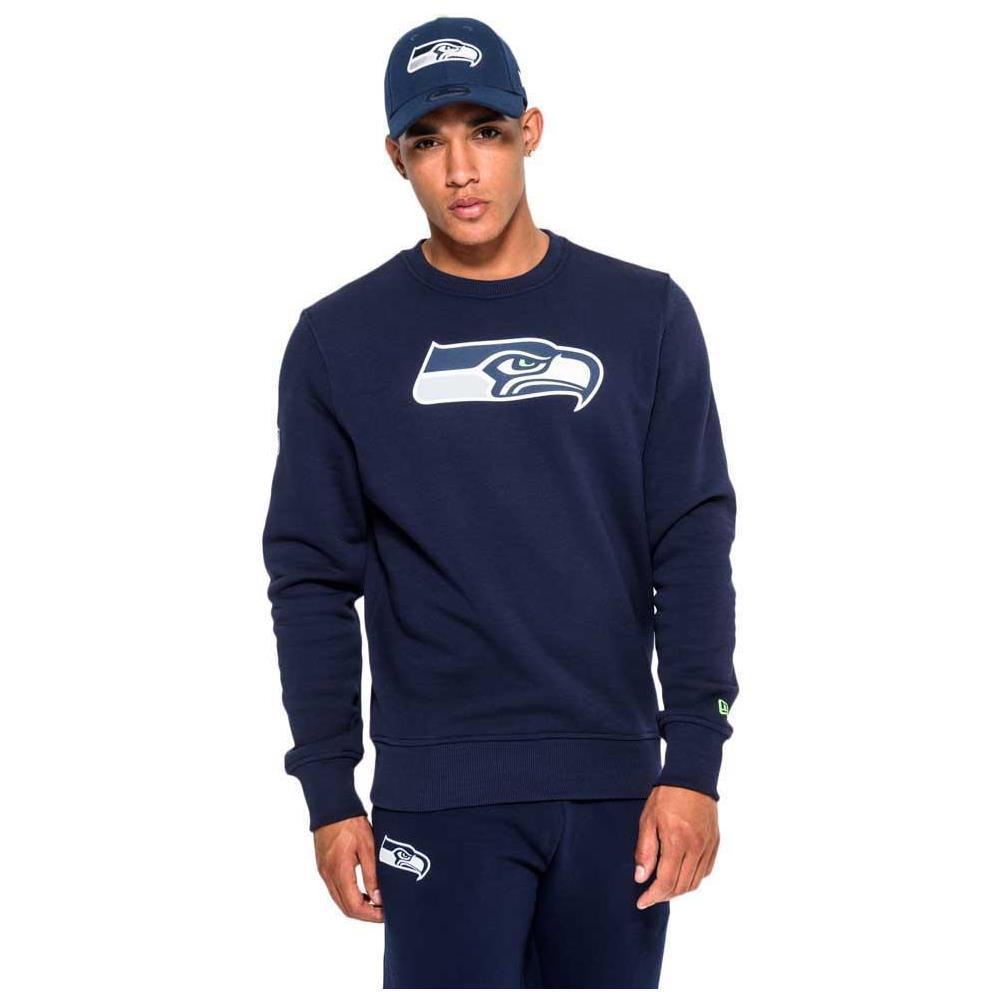 New Era - Felpe New Era Seattle Seahawks Team Logo Crew Neck Abbigliamento  Uomo - ePRICE 4267e46c1434