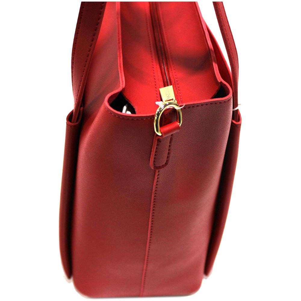 96bd5f4d0a NAJ OLEARI Borsa Donna Similpelle Shopping Grande A Mano Linea Eva3 61546  Rosso