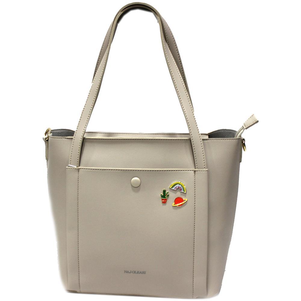 8b0ece3e51 NAJ OLEARI - Borsa Donna Similpelle Shopping Grande A Mano Linea Eva3 61546  Sabbia - ePRICE