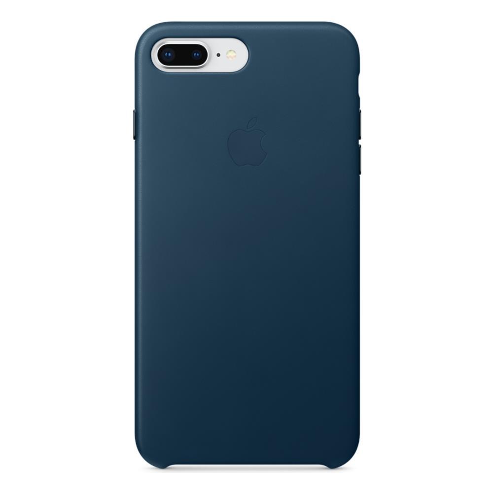 custodia in pelle per iphone 8 / 7 - blu elettrico