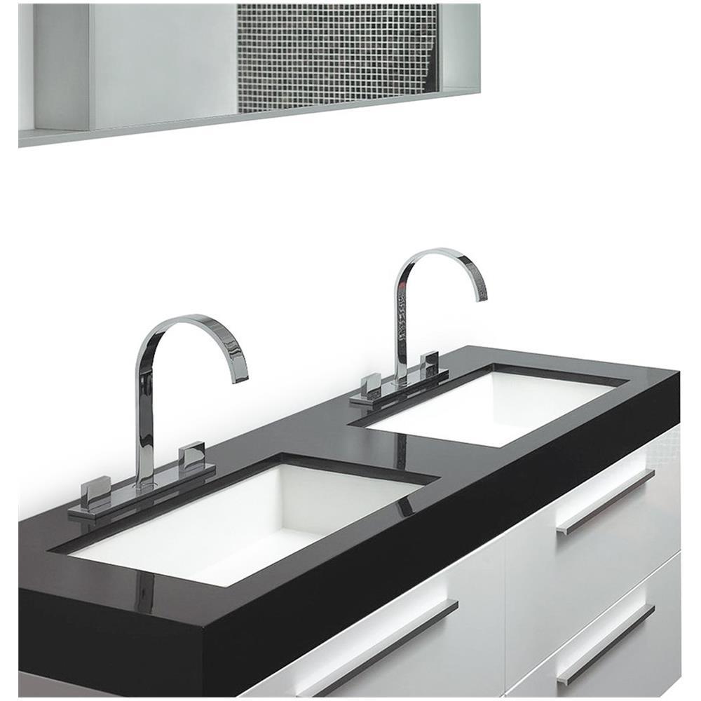 Beliani - Arredo Bagno Moderno - Mobili Accessori Bagno 2 Lavabi ...