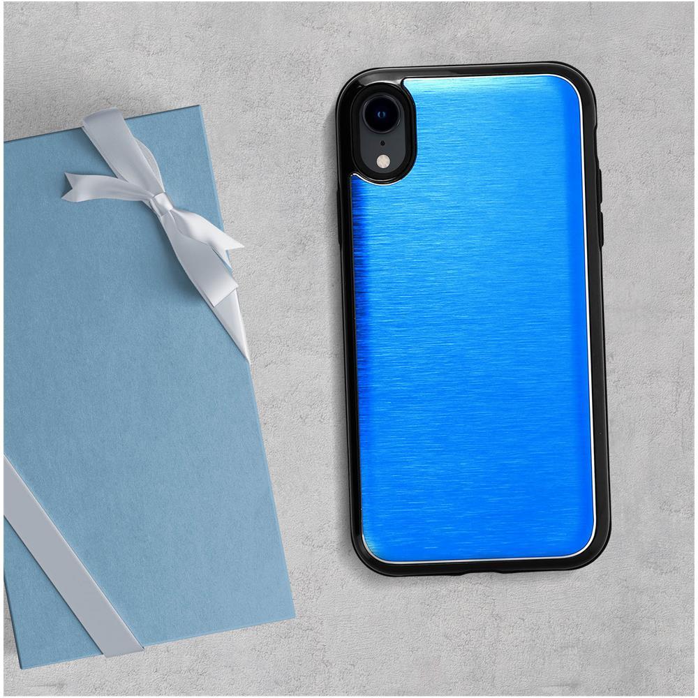 Avizar - Cover Iphone X / Xs Protezione Alluminio Contorno Morbido