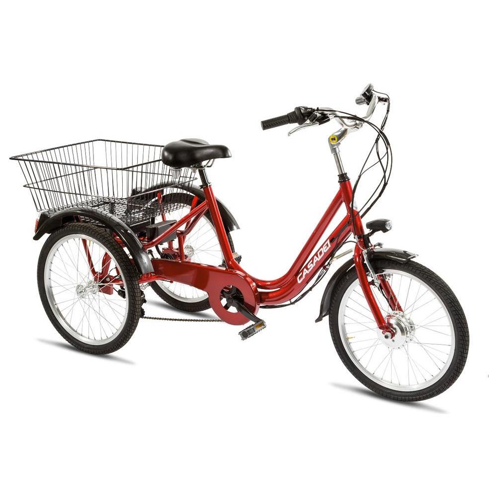 fbd4527db5a64 Cicli Casadei - City Bike Elettrica Cicli Casadei Tre Ruote 20 6v Pedalata  Assistita - ePRICE