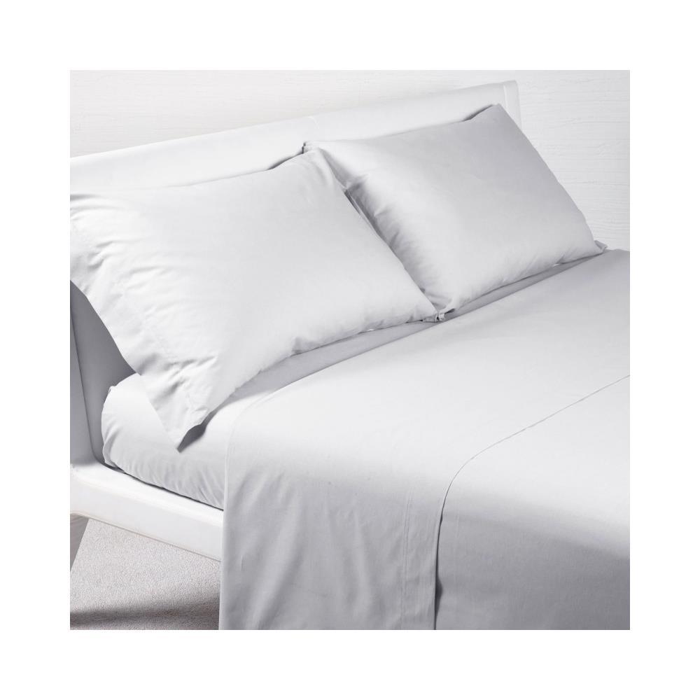 all'avanguardia dei tempi qualità stabile selezione premium CALEFFI Completo Lenzuola Tinta Unita Letto 1 Piazza E Mezza Cotone Colore  Bianco