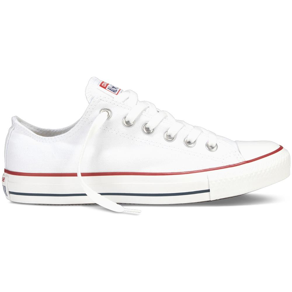all star converse donna basse bianche
