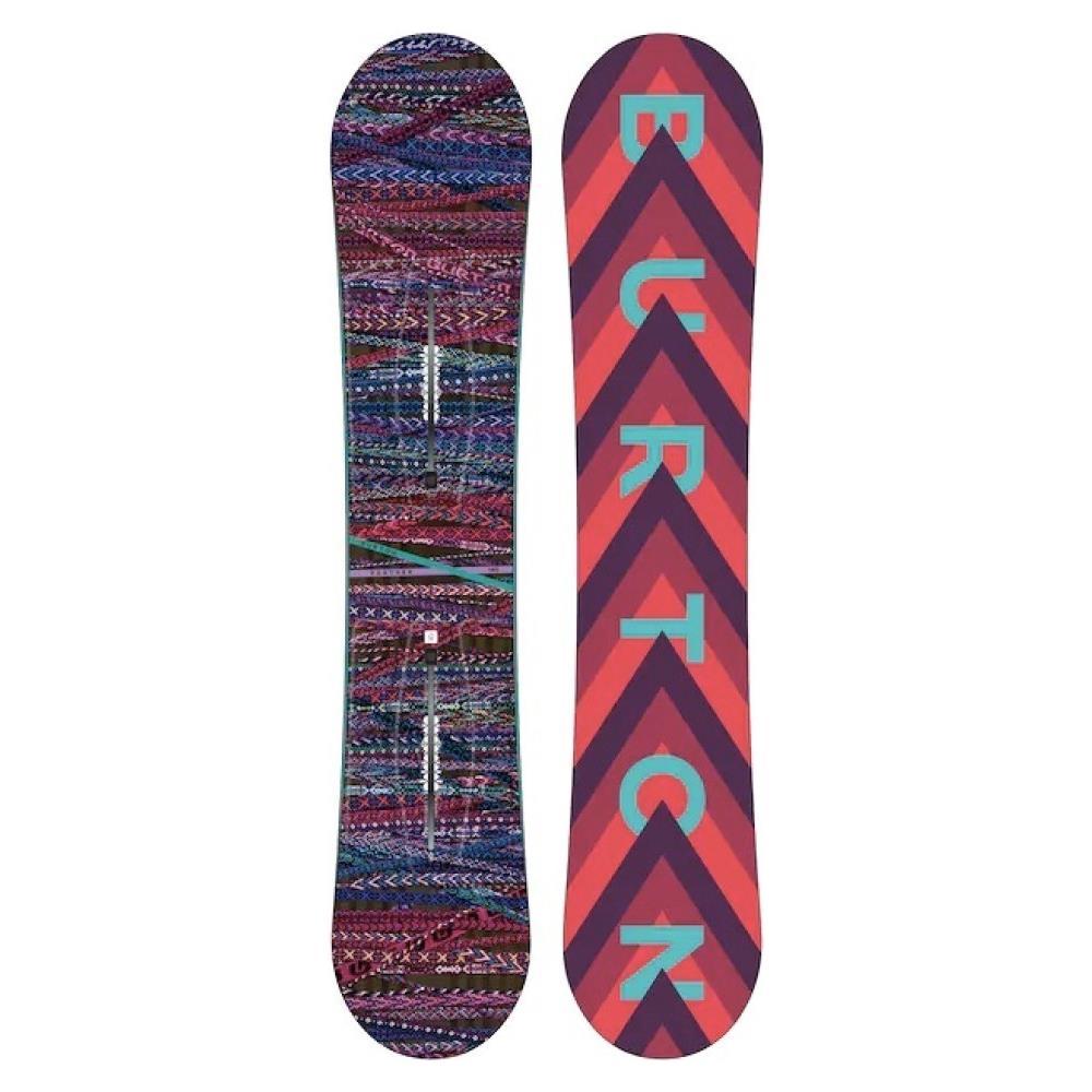 Burton Tavola Uomo Snowboard Feather Taglia: 144 Colore: Fantasia