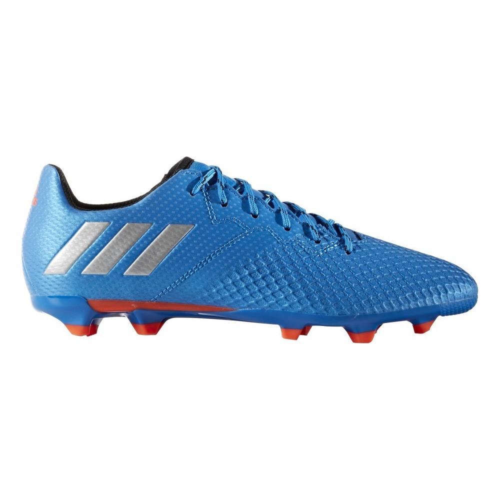 Adidas Scarpe Calcio Ragazzo Messi 16.3 Fg Blu Arancio 38