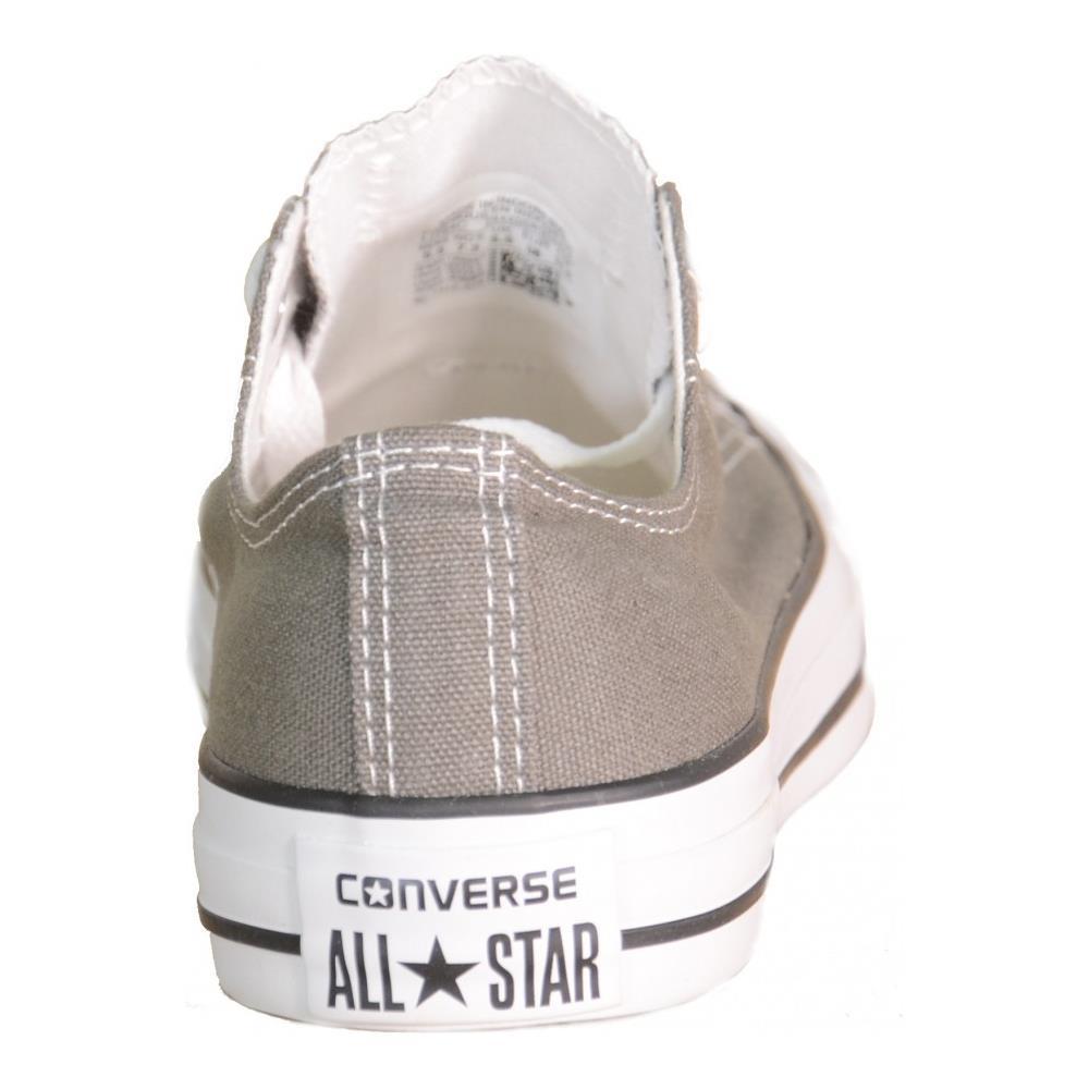 Converse - All Star Ct Basse Low Grigie Grey Charcoal Tela 1j794 ...