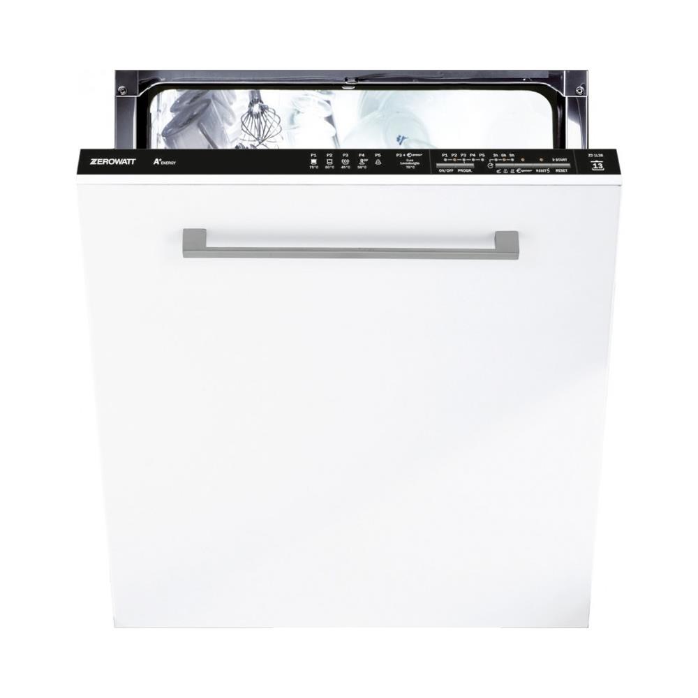 Differenza Classe A+ E A++ zerowatt lavastoviglie zd 1l38-02 da incasso a scomparsa totale classe a+  capacità 13 coperti
