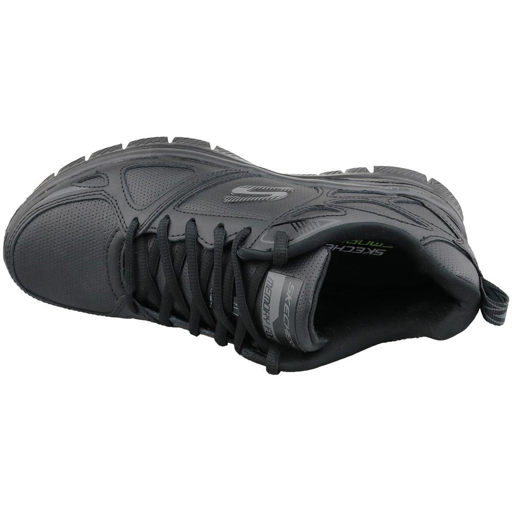 Skechers Flex Advantage 51461 bbk, Uomo, Nero, Scarpe Sportive, Numero: 42 Eu