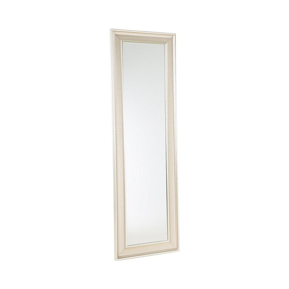 Specchi Moderni Con Cornice.Beliani Specchio Moderno Da Parete Con Cornice Dorata 51x141cm