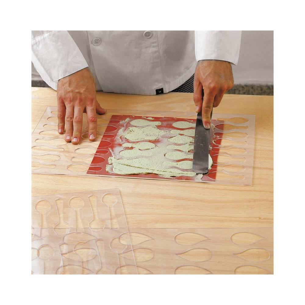 PADERNO Stencil Per Cucina Creativa Plastica