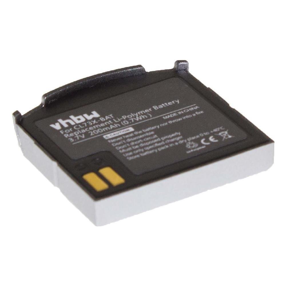 geemarc cl7300  vhbw - Li-polimeri Batteria 200mah (3.7v) Per Cuffie Wireless ...