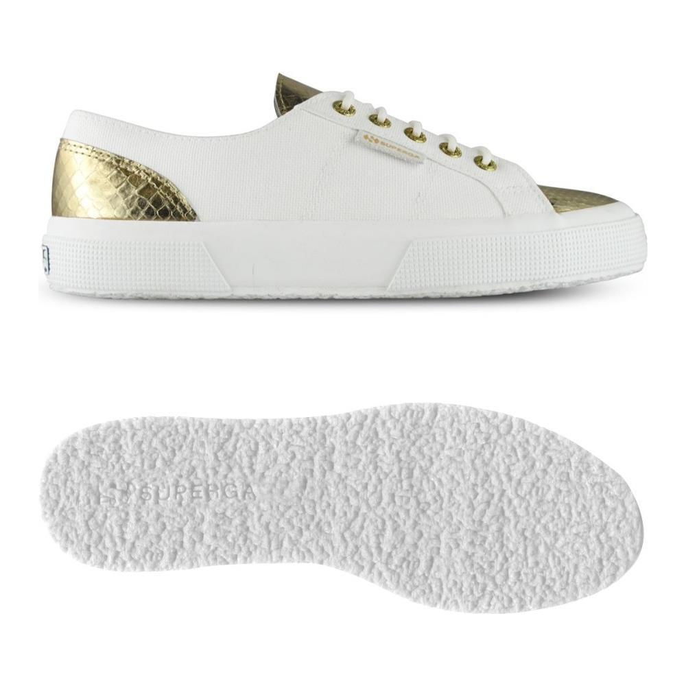 2a3ca21255 Superga - Scarpe Donna 2750 Cotleanimal Bianco Oro 39 - ePRICE