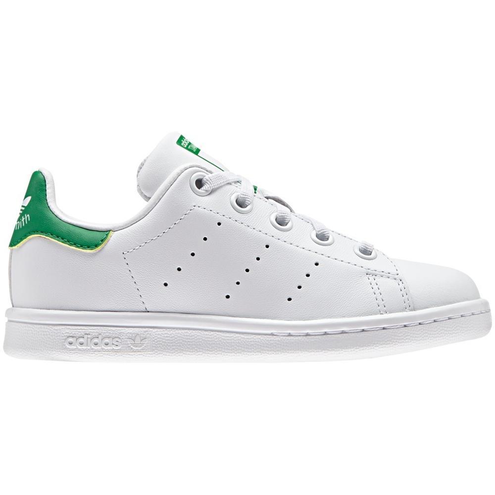 adidas Scarpe Bambino Adidas Stan Smith Taglia 30 Colore: Bianco verde