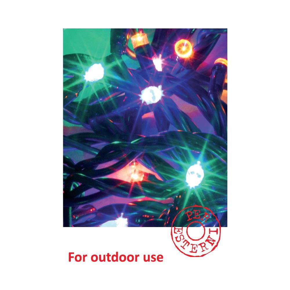 Catena Luminosa Per Foto avdistribution catena luminosa 180led con controller giochi luce /  trasformatore ip44 - per uso esterno - ideale per alberi di natale,  presepi,