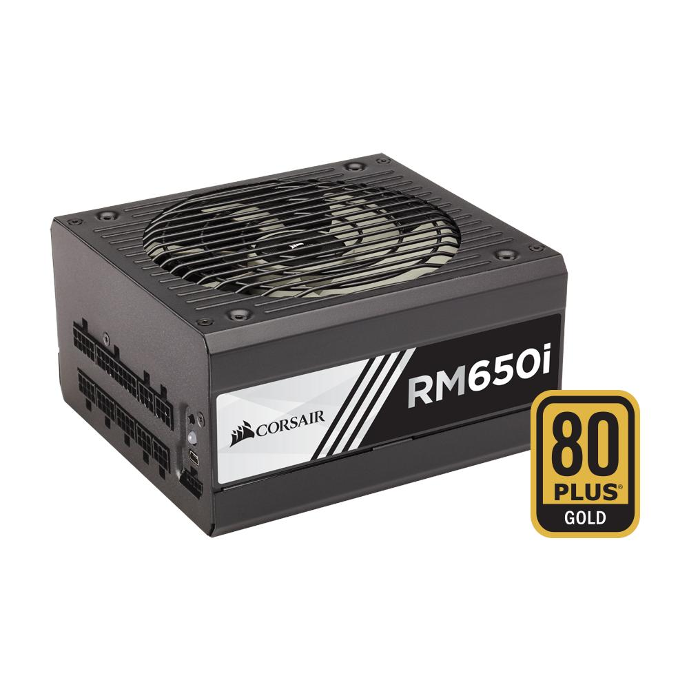 Alimentatore 650 Watt Serie RMi Modulare ATX 12V v2.4 Certificazione 80 Plus Gold