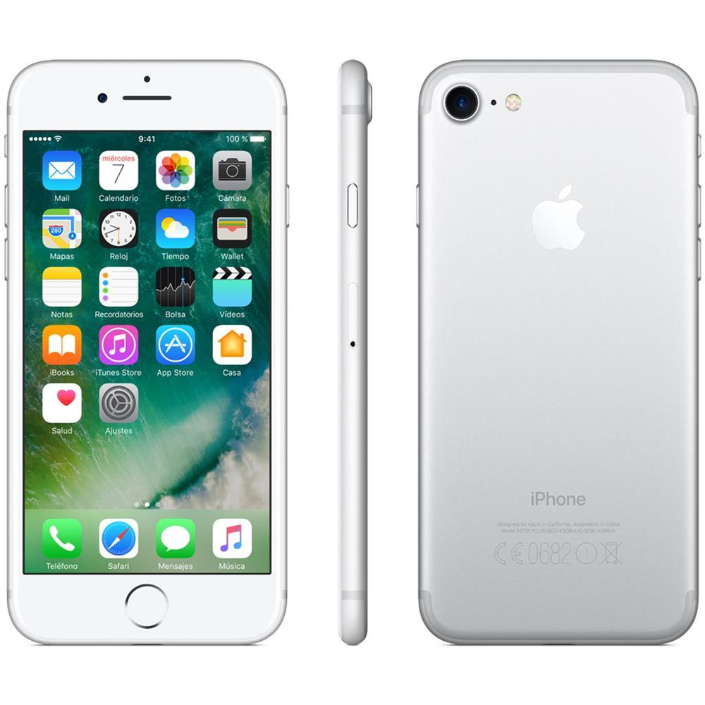 Iphone 7 apple 128gb argento (ricondizionato)
