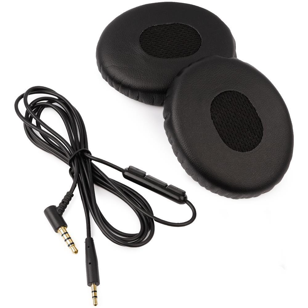 REYTID -   reytid  Cavo Di Bose Qc25   Orecchio Cuscino Kit Per Quietcomfort  25   Soundtrue (around-ear) Cuffie - Pelle Nera   Remote - Sostituzione  Cuffie ... 36fa45e0e0c0