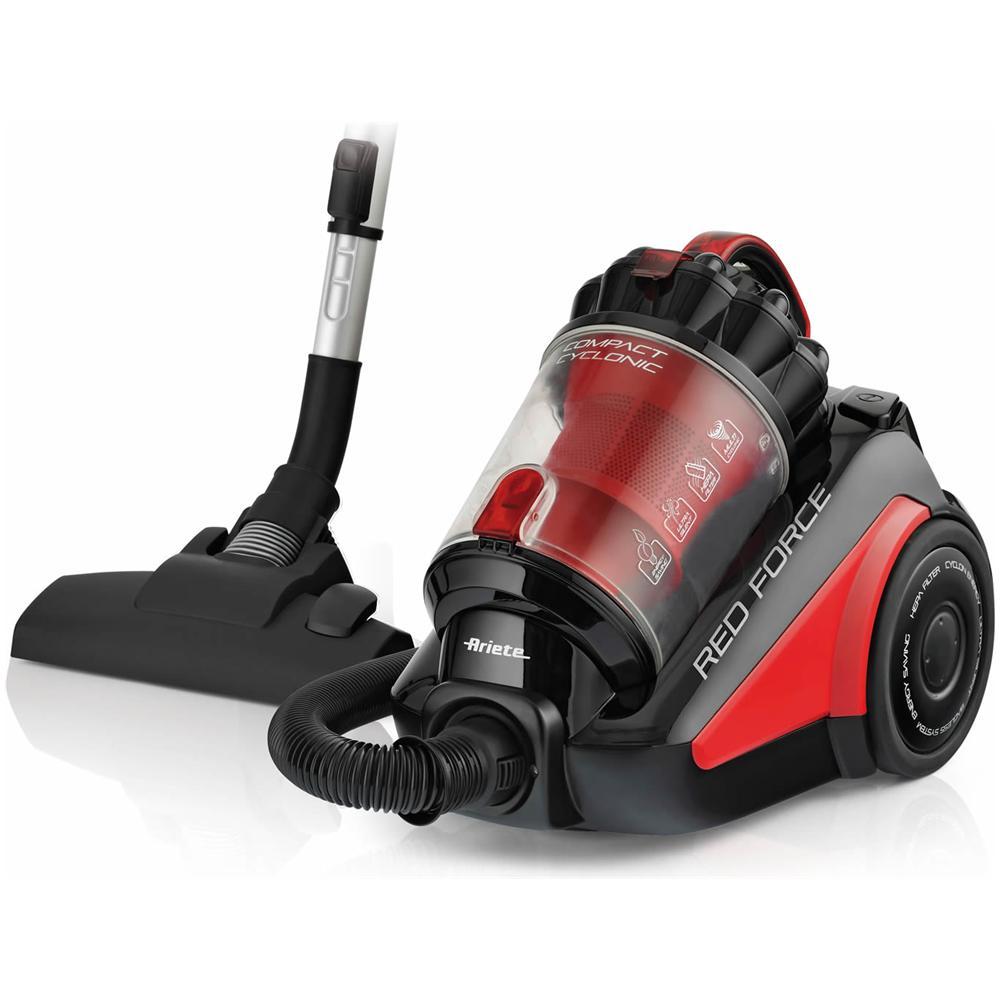 ARIETE Red Force Aspirapolvere Senza Sacco Potenza 700 Watt