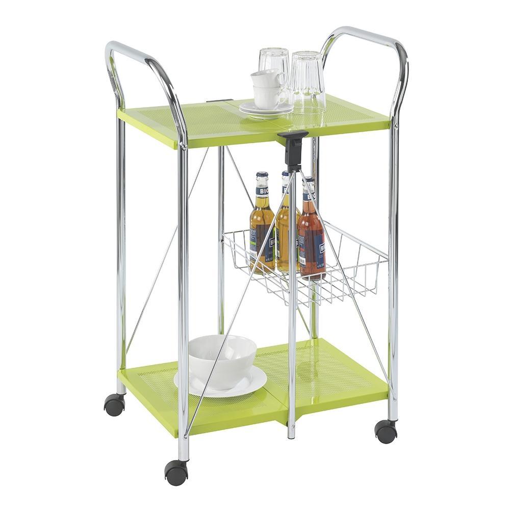 WENKO - Carrello Cucina 58x44xh90 Cm Verde Acido - ePRICE
