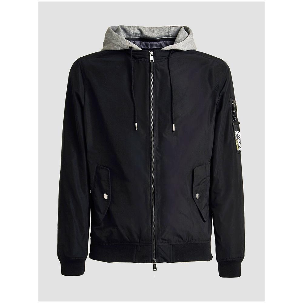 GUESS Giubbino Giubbotto Uomo Guess M91l23wb0l0 Jblk Jacket Originale Pe 2019 New Taglia Xs Colore Nero