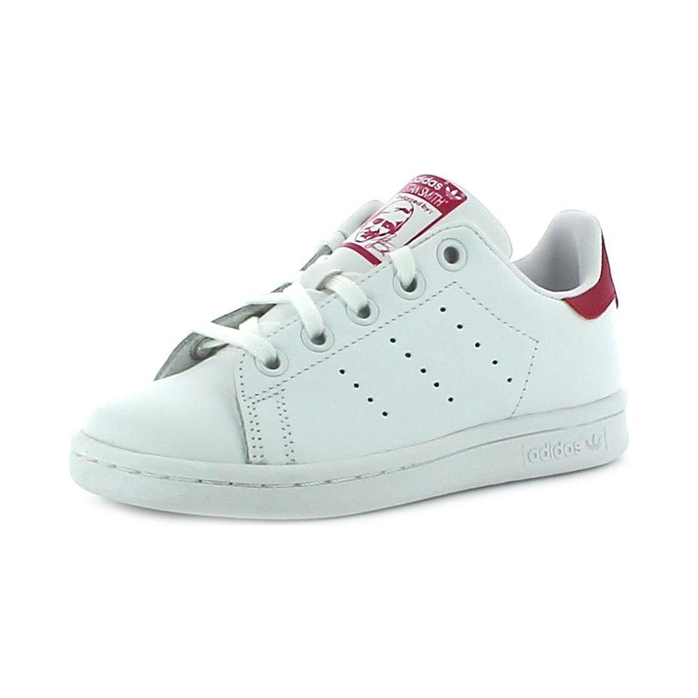 various colors 5207c 79b02 Adidas - Scarpe Sportive Bambina Bianche Stan Smith El C 34 - ePRICE