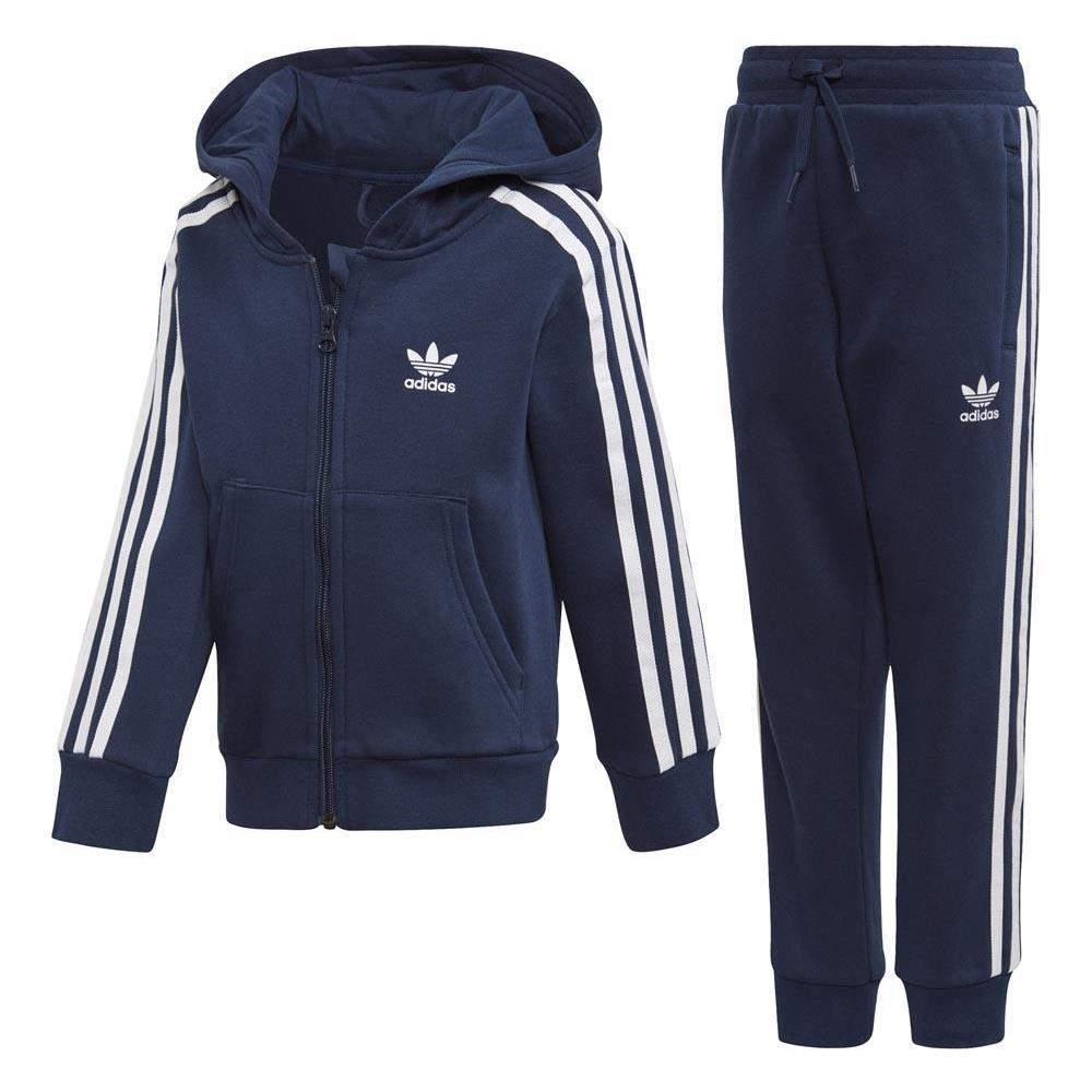 380aeae7f99fb adidas - Tute Adidas Originals Trefoil Hoodie Abbigliamento Ragazza 104 -  ePRICE