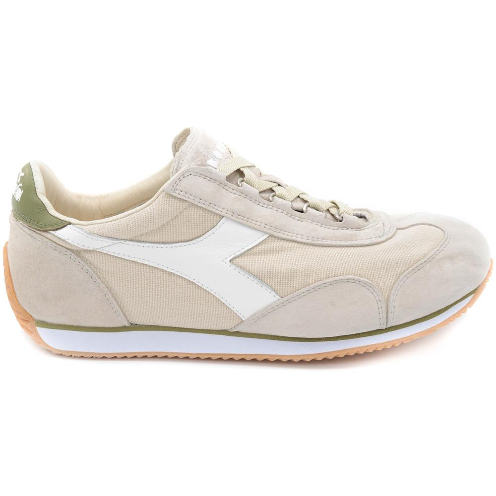 DIADORA - Sneakers Uomo Equipe Stone Wash 12 Silver Cloud   dried Herb  Taglia  43 - ePRICE 8f6198a887b