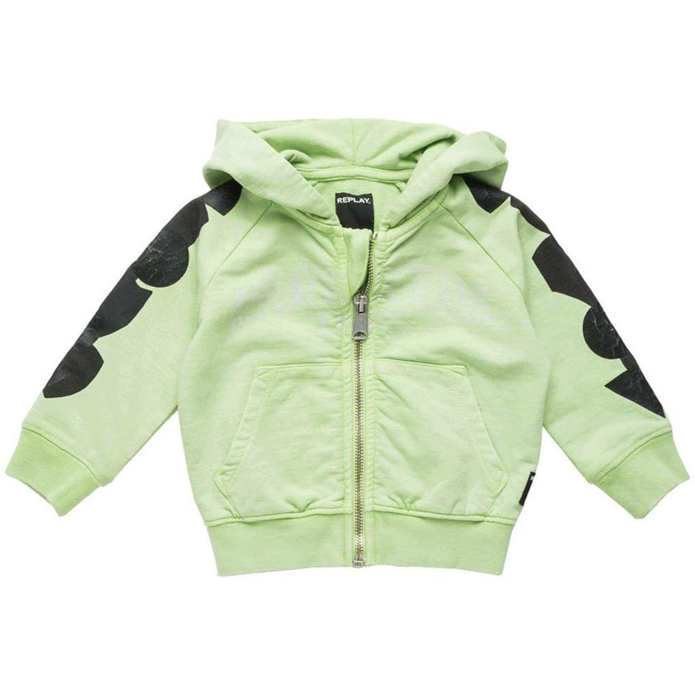 various colors 74c30 9a6c1 REPLAY - Felpe Replay Light Fleece Baby Boy Abbigliamento ...