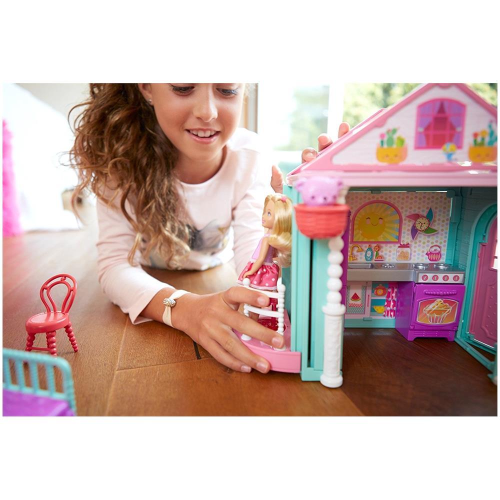 casa di chelsea barbie  MATTEL - Barbie La Casa di Chelsea - ePRICE