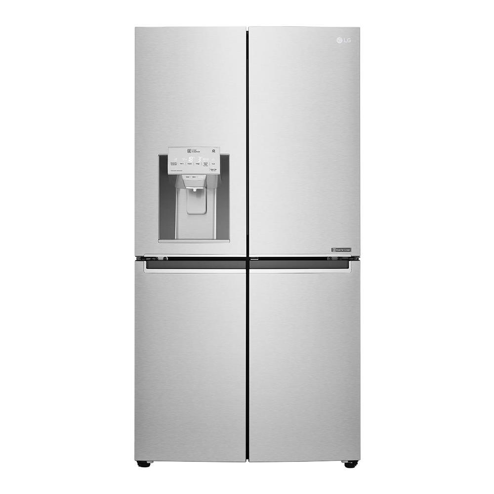 Frigorifero Americano Poco Profondo lg frigorifero multidoor gmj936nshv door-in-door total no frost classe a+  capacità lorda 705 litri colore inox grafite