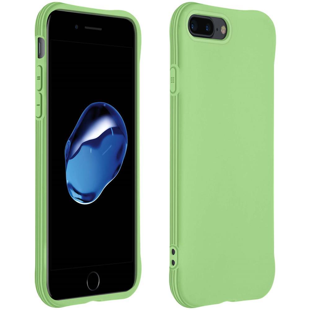 Avizar Cover Apple Iphone 7 Plus / 8 Plus Silicone Bumper Resistente Verde