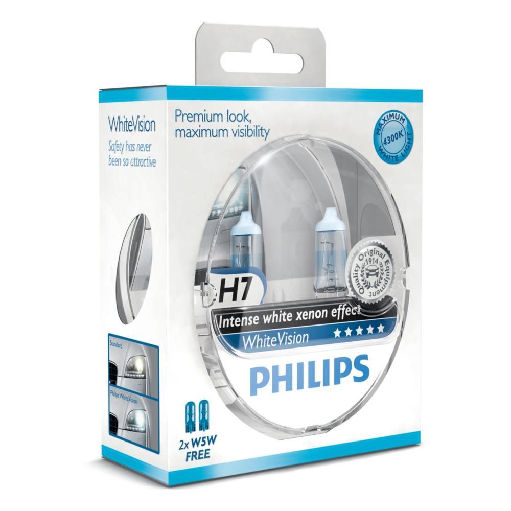 Philips Lampada Alogena H7 12v 60 Di Luce In Piu Sulla Strada