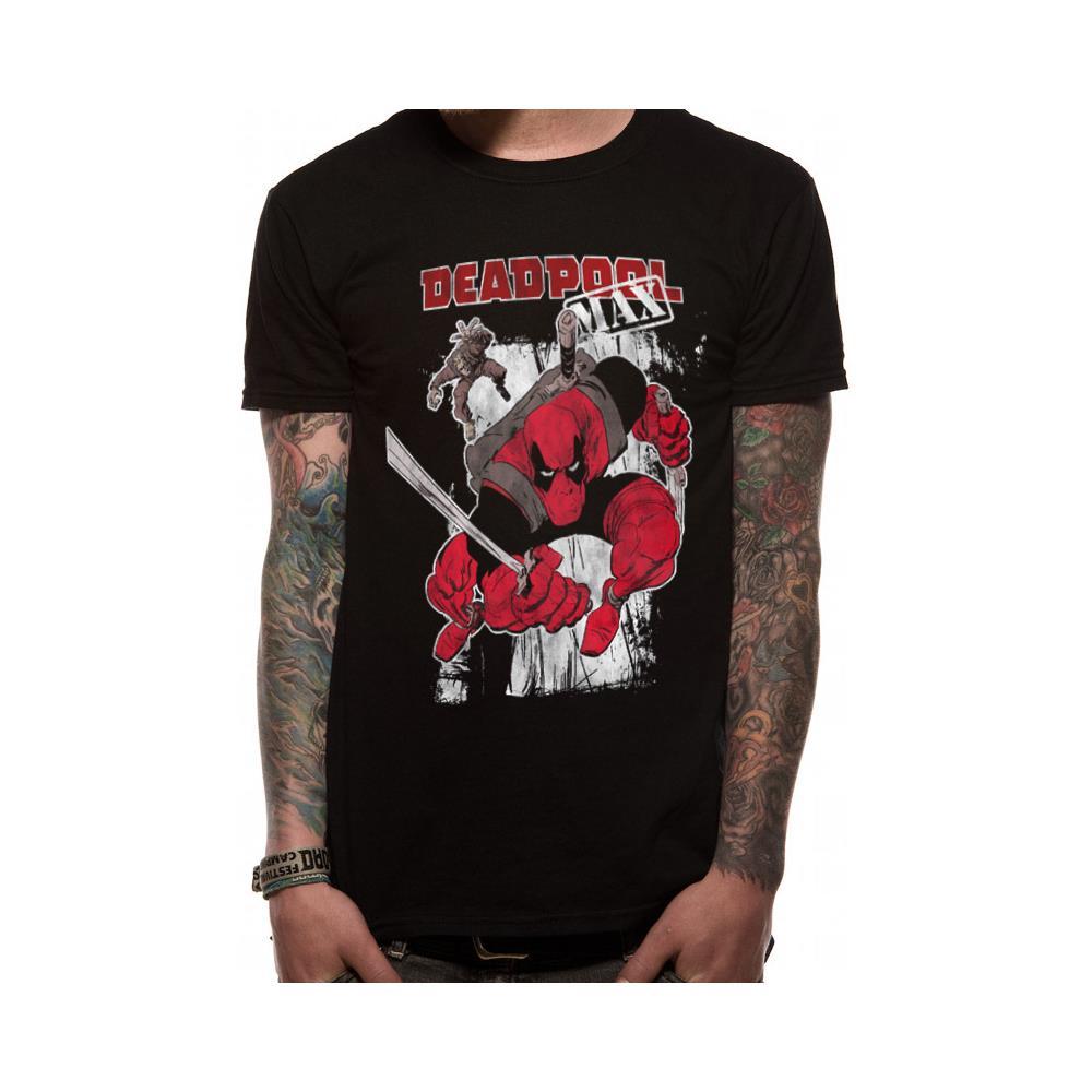 CID Deadpool-Chimichanga Point T-Shirt Uomo