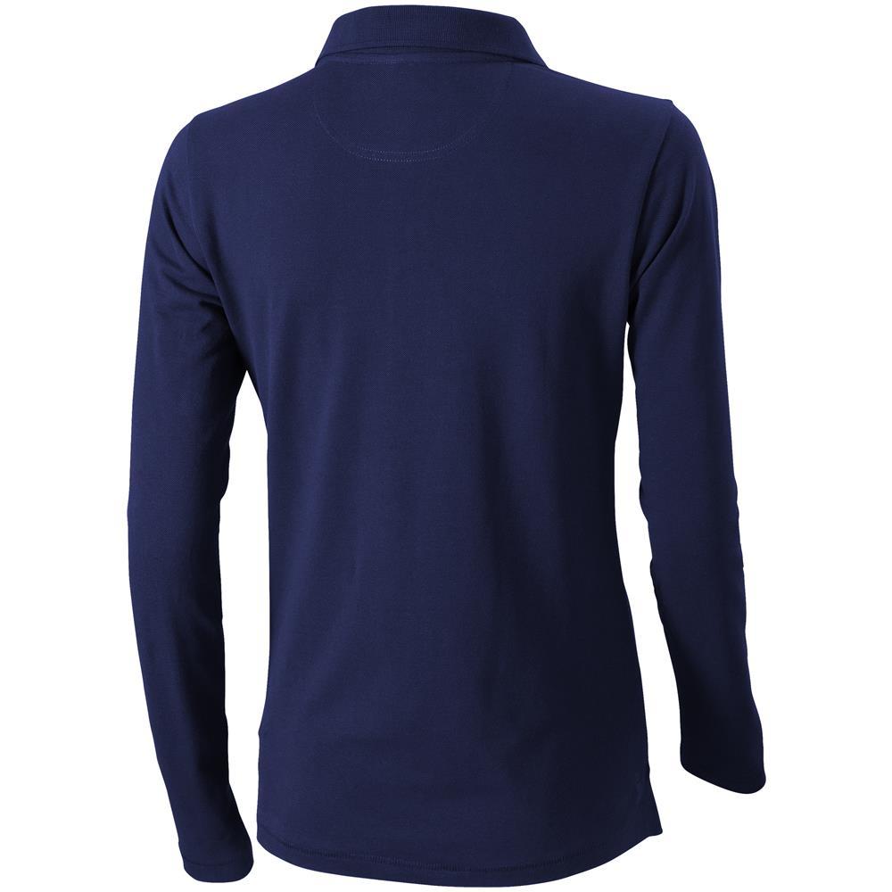 9f3dc123d8c003 Elevate - Oakville Polo A Maniche Lunghe Donna (l) (blu Navy) - ePRICE