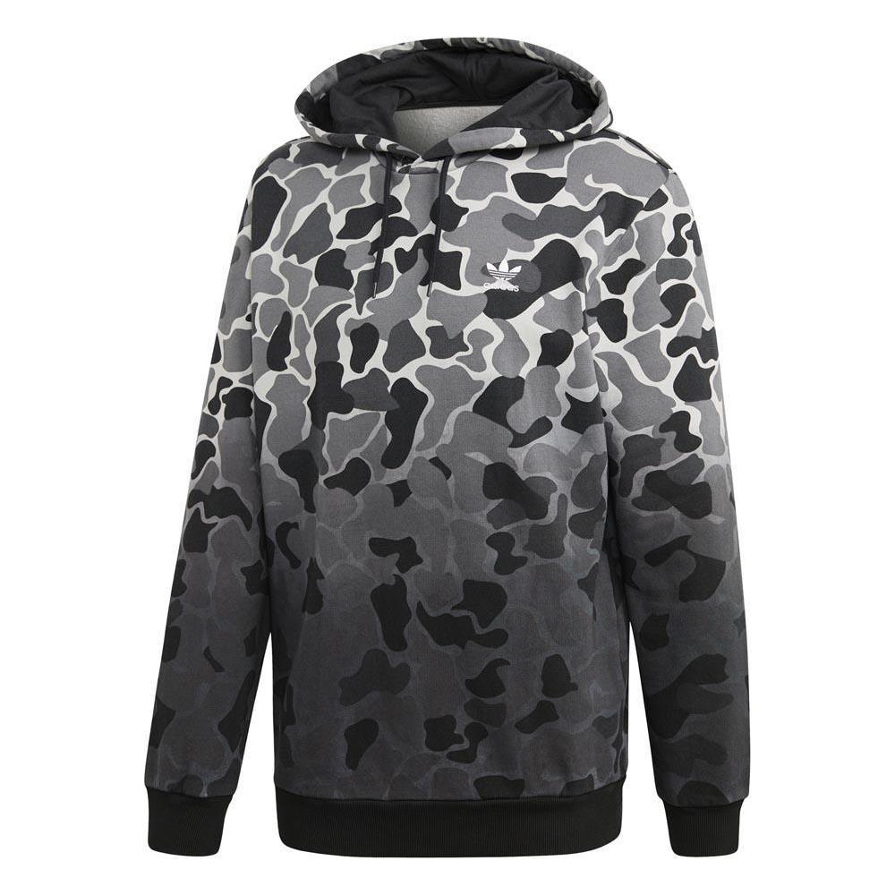 felpa adidas uomo logo  adidas - Felpe Adidas Originals Camo Hooded Abbigliamento Uomo Xl ...