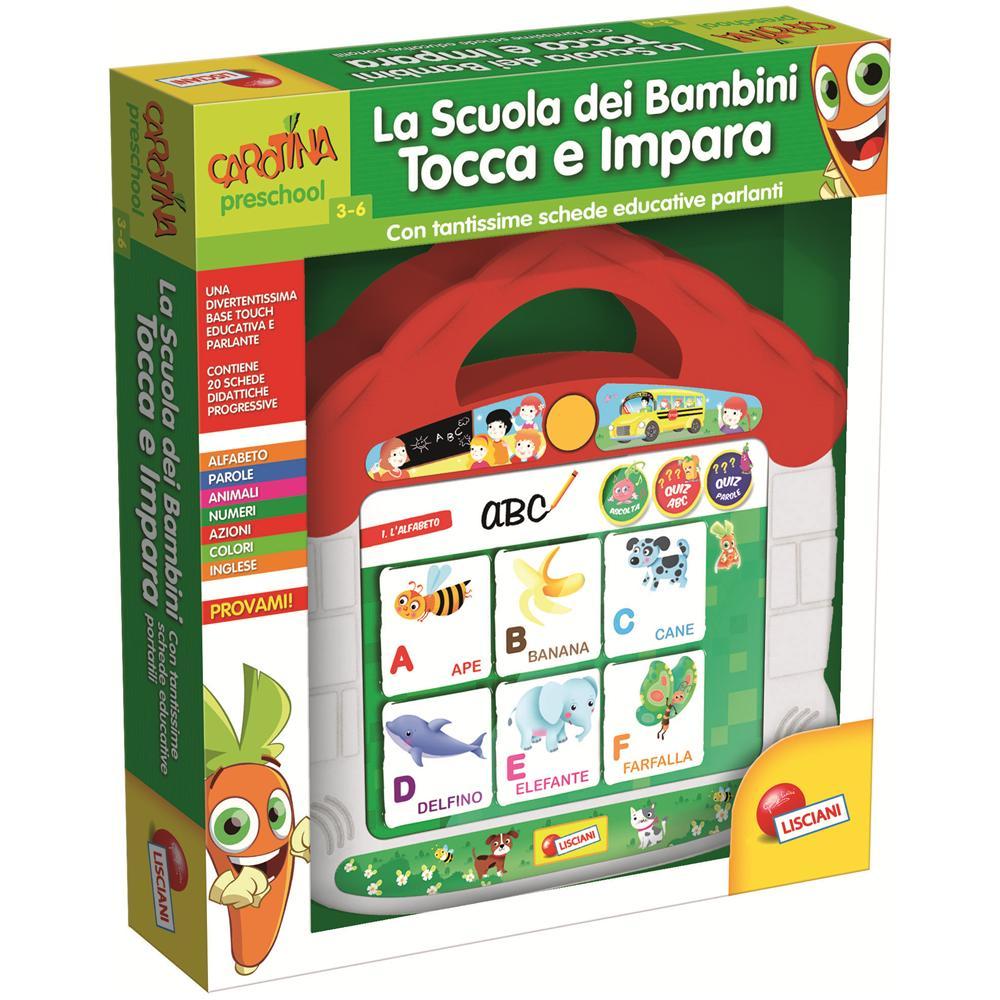 Liscianigiochi 42609 Carotina Gioca con Il Tuo Bambino Lettere e Parole