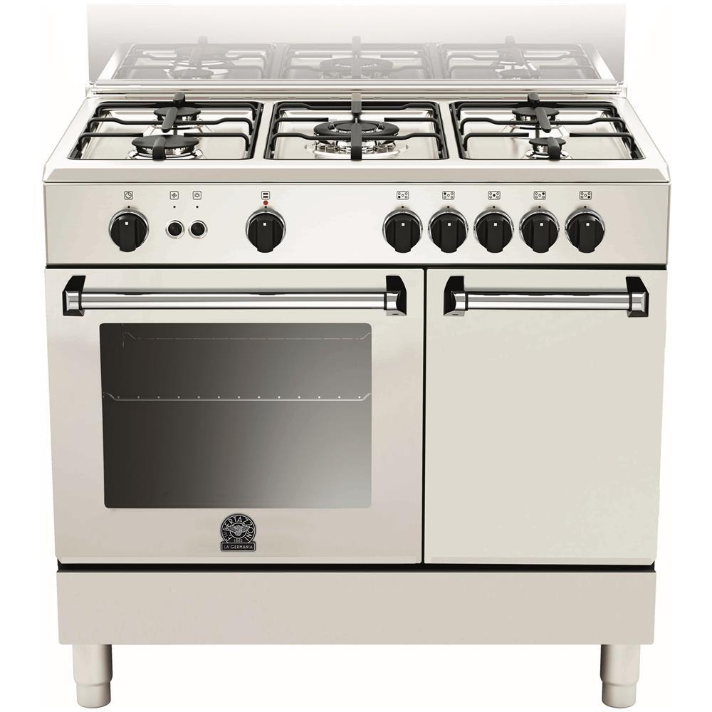 BERTAZZONI LA GERMANIA - Cucina a Gas AMN905GEVPWE Serie Americana 5 ...
